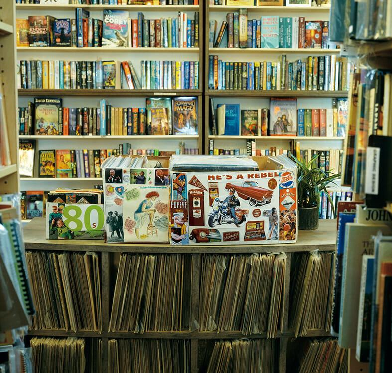 カウアイ島の歴史や風土を扱った書籍もたくさん見つかる。