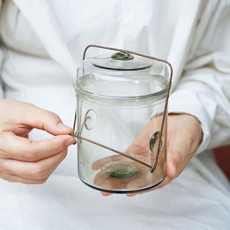 長尾智子 ガラス瓶