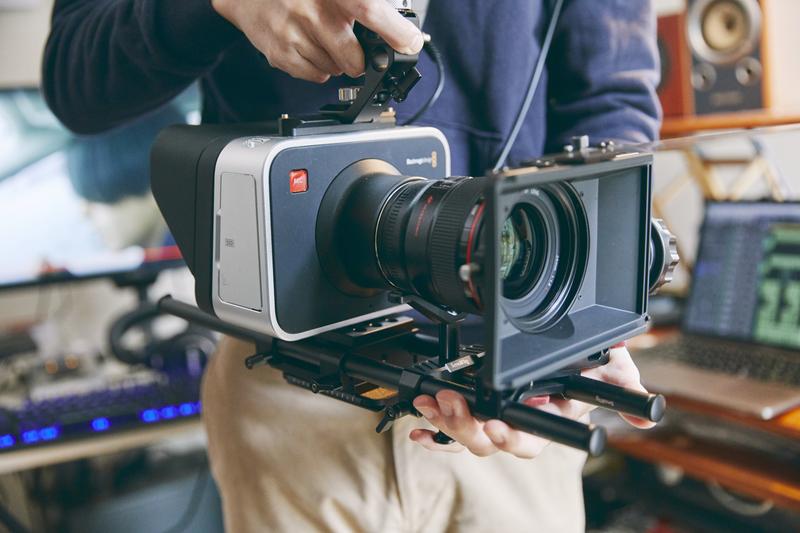 8万円で購入した〈ブラックマジック〉は、映像のプロが撮影に使うことでもお馴染み。