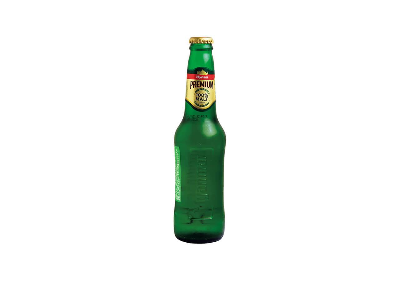 ミャンマービール¥660。
