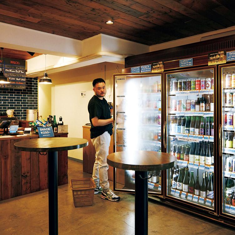 都立大学〈The Slop Shop〉世界の最新潮流からクラフトビール文化を根付かせる