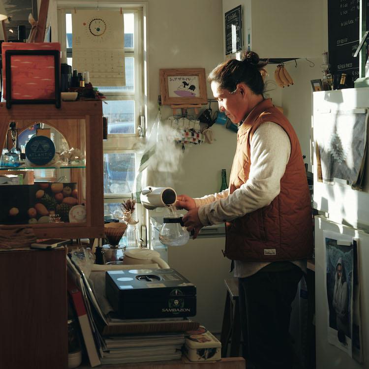 モーニングコーヒー Atlantic Coffee Stand