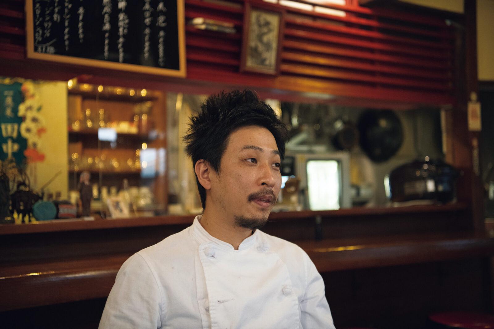 「この場所の雰囲気が好きです」と店主の田中晋平さん。