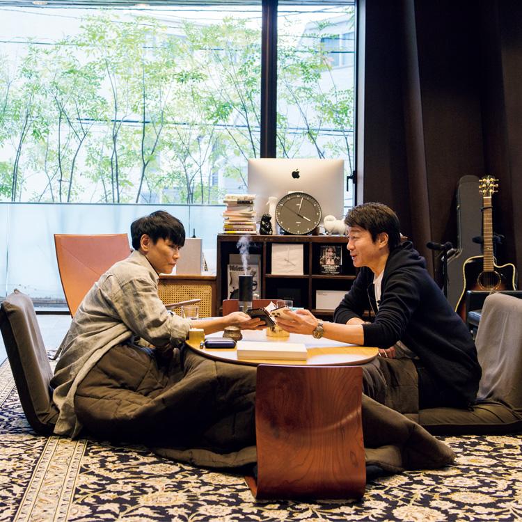タレントの加藤浩次さんとミュージシャンの山口一郎さんm