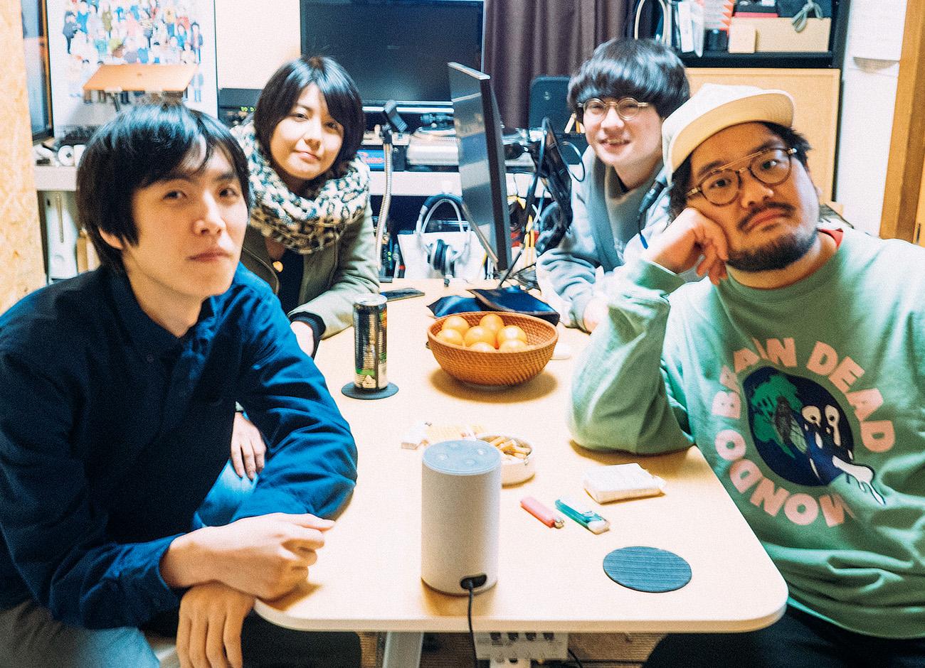 ポッドキャスト『radioDTM』カネコヨウヘイ、中馬祥子、岩橋康太、佐藤ナウ