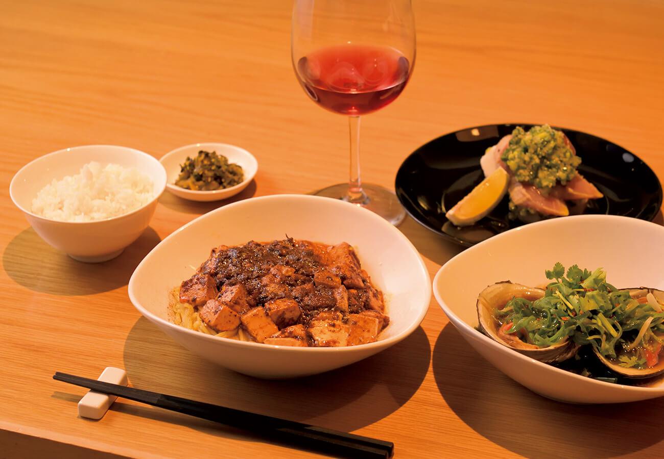 高井戸 麻婆TABLEの麻婆麺