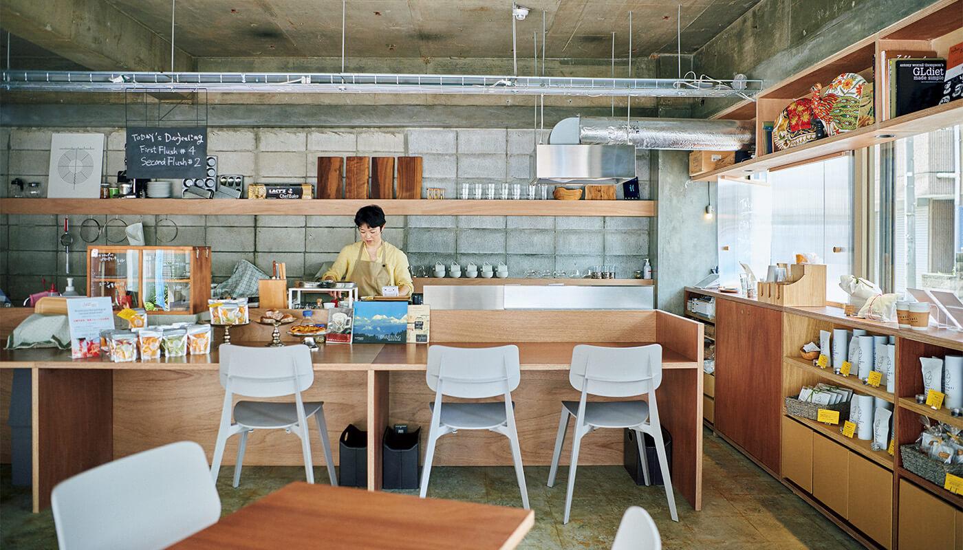 202年3月に開業、ダージリンのセカンドフラッシュで煮出したチャイも人気。