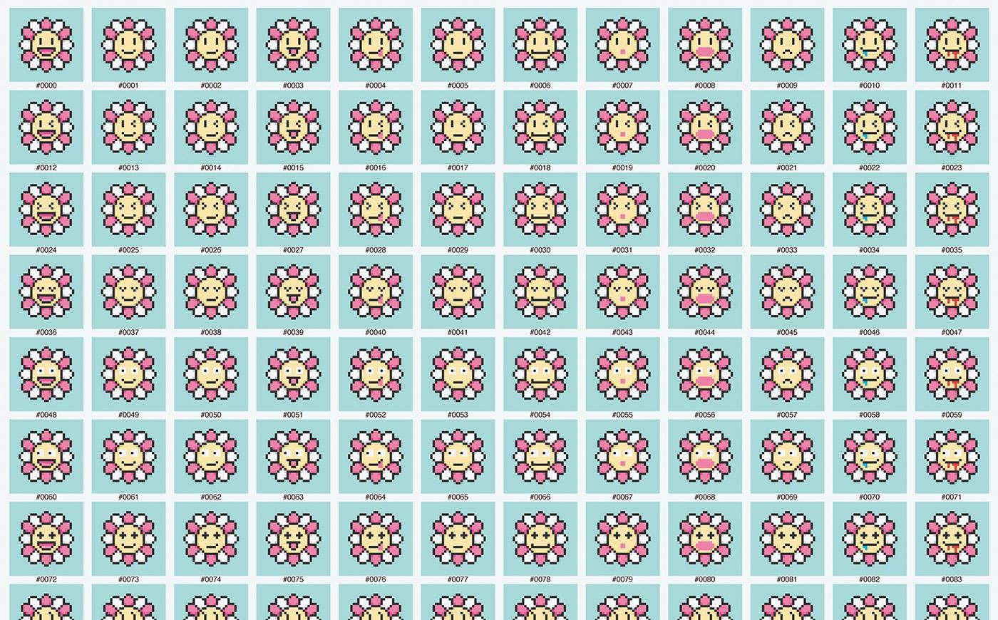 村上 隆「108 Earthly Temptations, 2021」今年の3月、村上隆が自身初となるNFT作品として本作を〈OpenSea〉へ出品することを発表し話題に。しかしその後、村上は一転して出品の取り下げを発表している。©2021 Takashi Murakami/Kaikai Kiki Co., Ltd.All Rights Reserved.