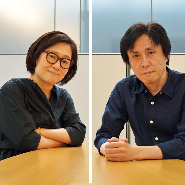 マンガに詳しいライターの加山竜司さんと山脇麻生さん