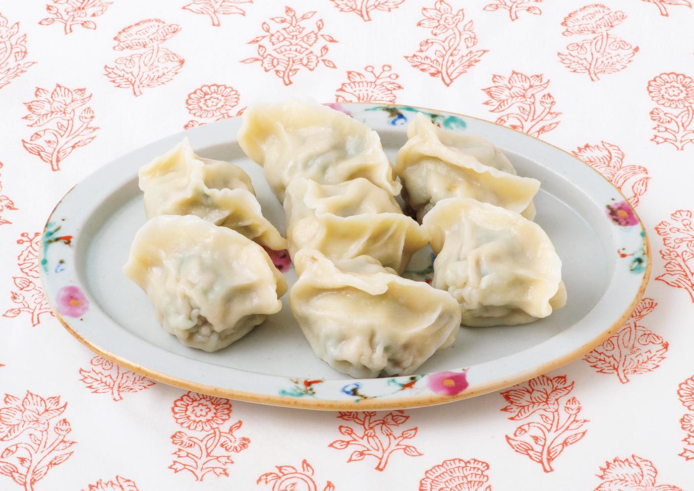 〈中国家庭料理 山東〉の水餃子