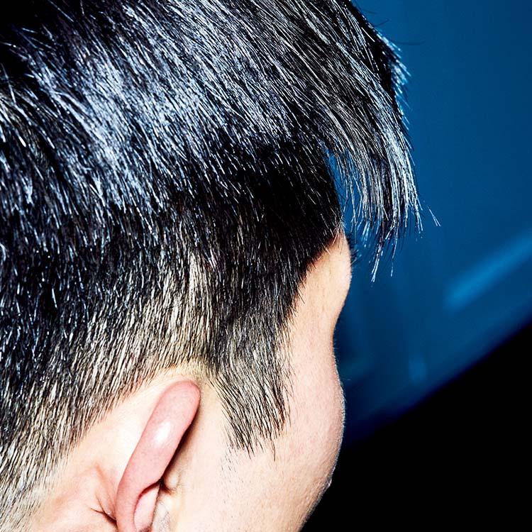 3.自然な毛束感とツヤ感が生まれる。