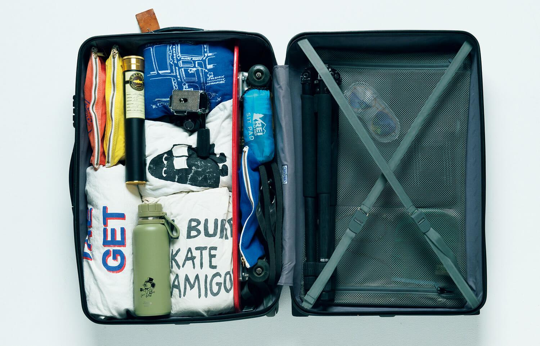 仕事道具と遊び道具の両立が、旅を豊かにする。