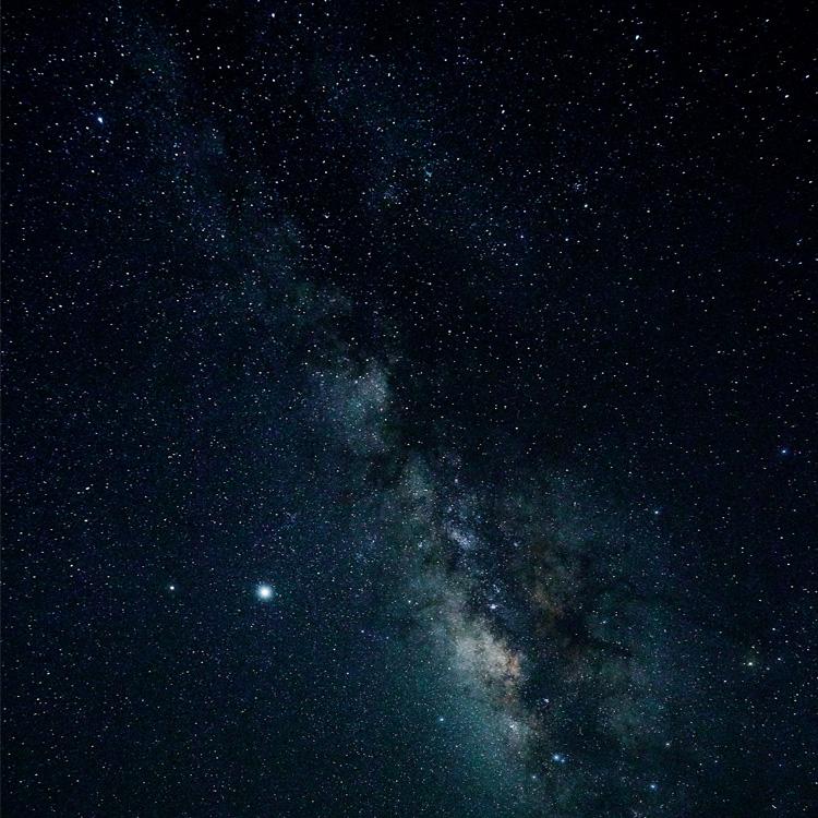 西表島の夜空は満天の星