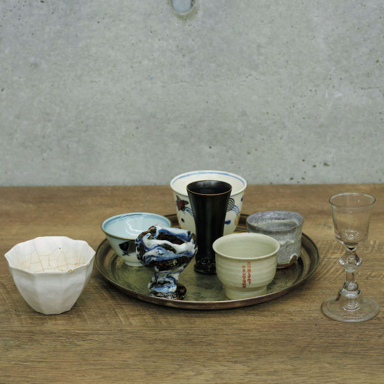井山三希子+猿山修の茶器など