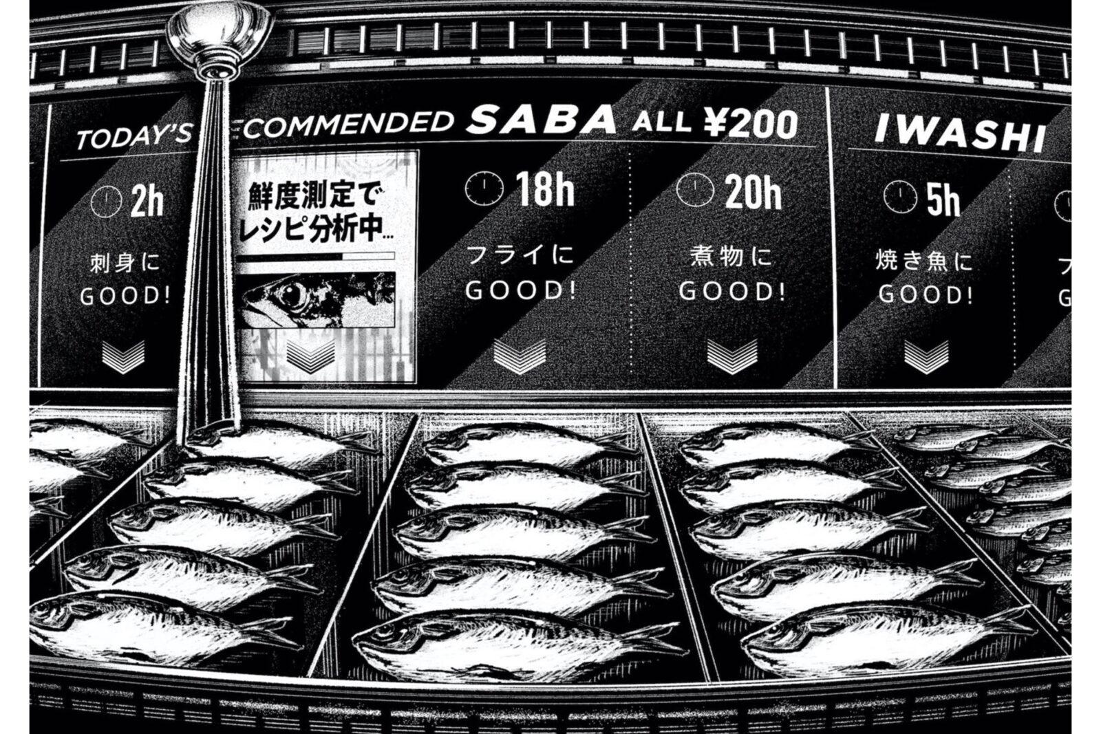 知財 魚の鮮度測定テクノロジー→妄想 フードロスゼロ鮮魚店正確な保存状態から最適レシピの提案まで。スーパーの売り場に並ぶ魚の鮮度を見分けるのは素人には難しい。しかし「鮮度測定」という技術を使えば、紫外線カメラを装着したカメラで魚眼を撮影し、死後経過時間を正確に測定することができる。保存状態や賞味期限を把握した店員さんが、この魚はお刺し身向き、こっちはフライ向きなど、最適なレシピの提案をしてくれたら、どの店でも仕入れた魚を無駄にすることなく、フードロスという社会課題も解決できるかもしれない。