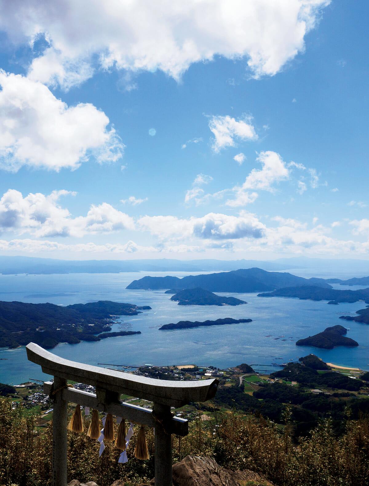 倉岳頂上からの長め