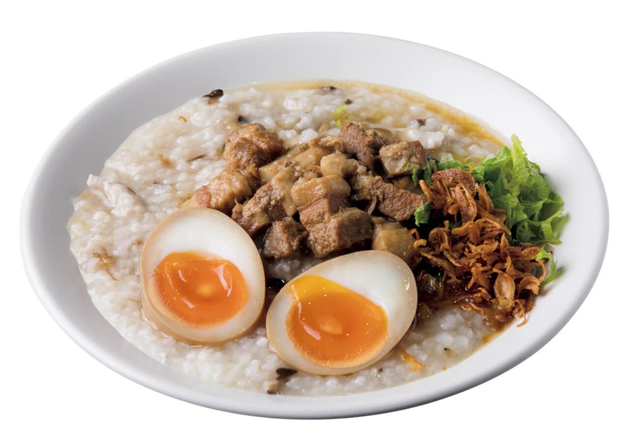 魯肉粥¥1,050、煮玉子+¥100。
