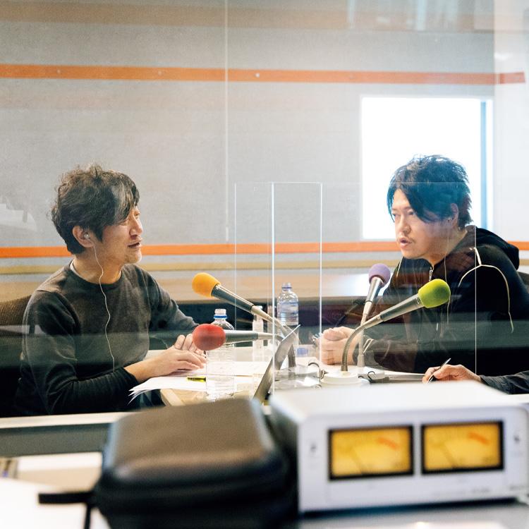 渋谷慶一郎と嶋 浩一郎の対談