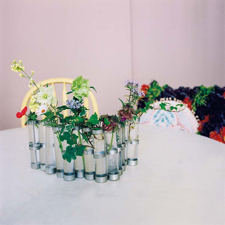 チャラが好きな花