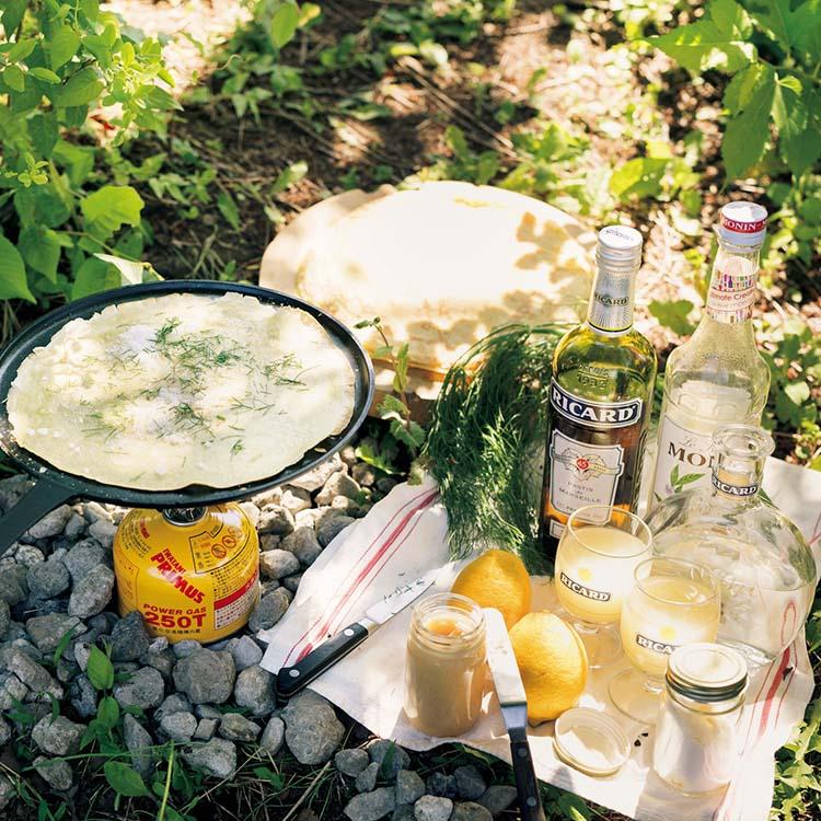 アウトドア ピクニック おやつ スイーツ