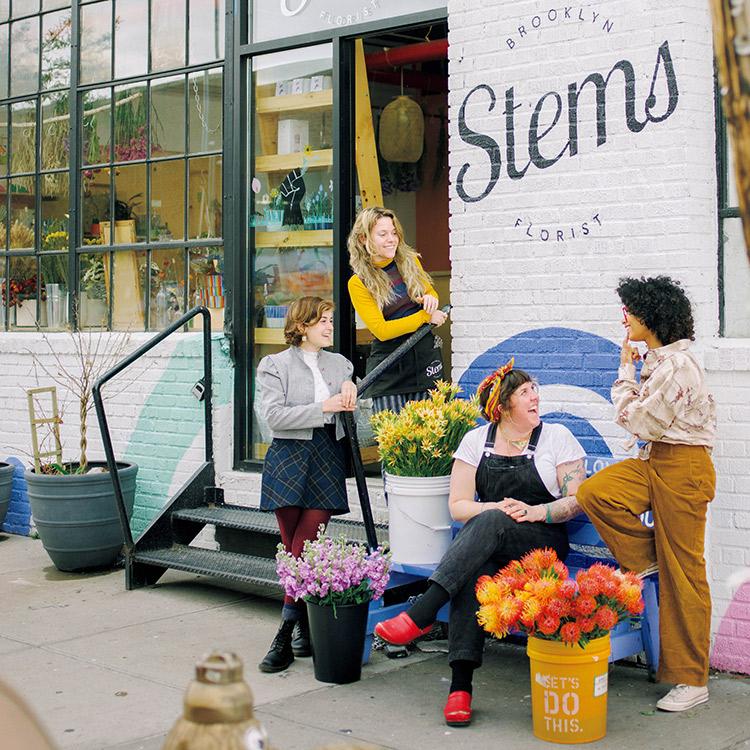 ロンドンの花屋 Stems Brooklyn Fleurotica