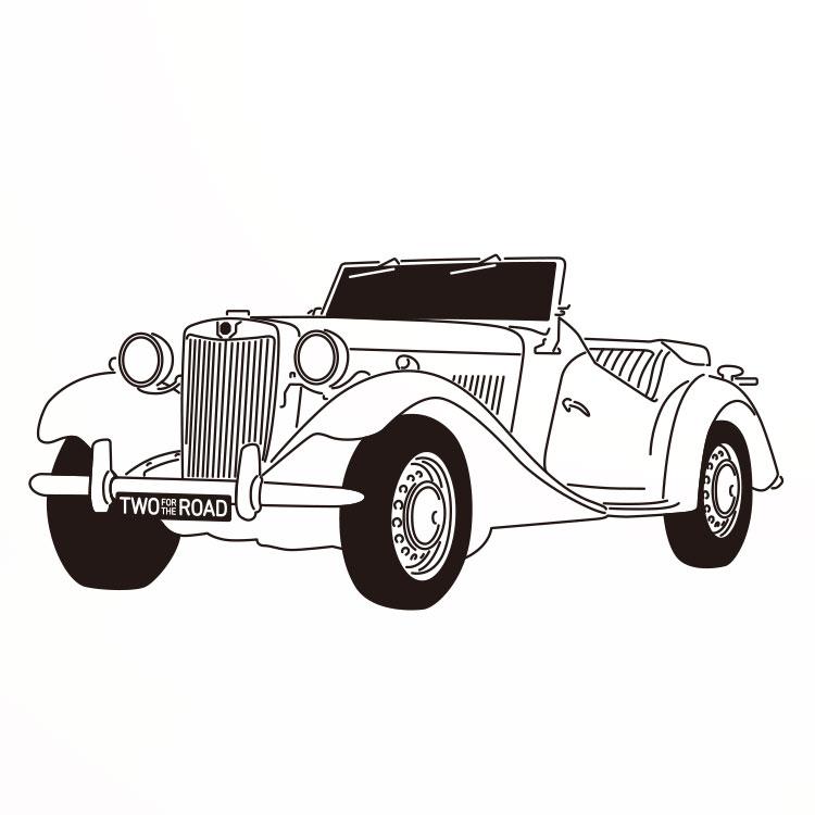 名車探偵 MG−TD