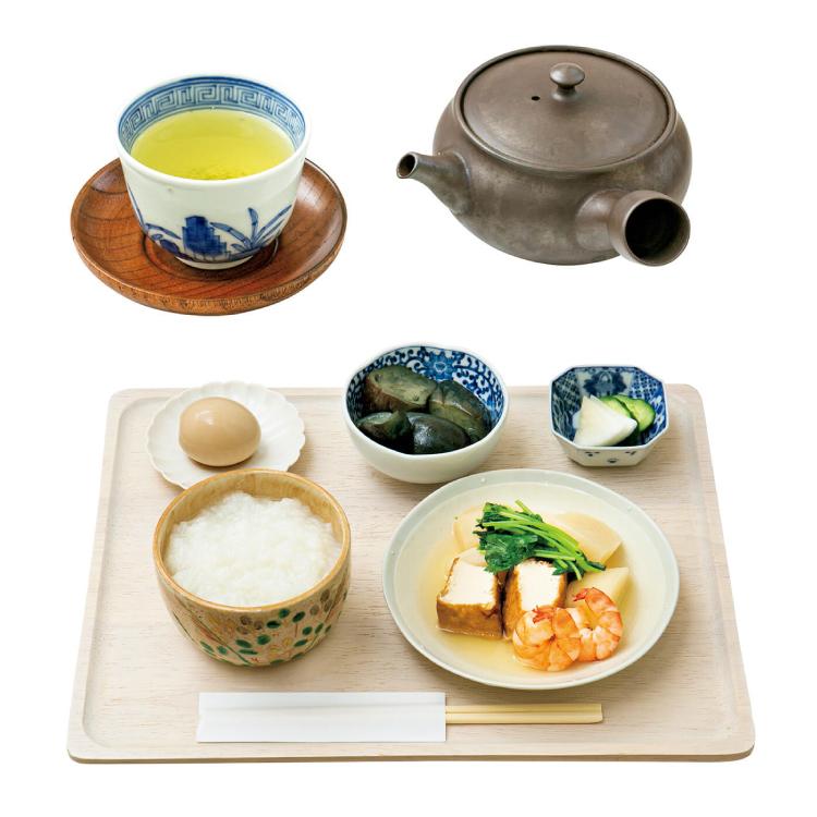 東京 お茶 朝