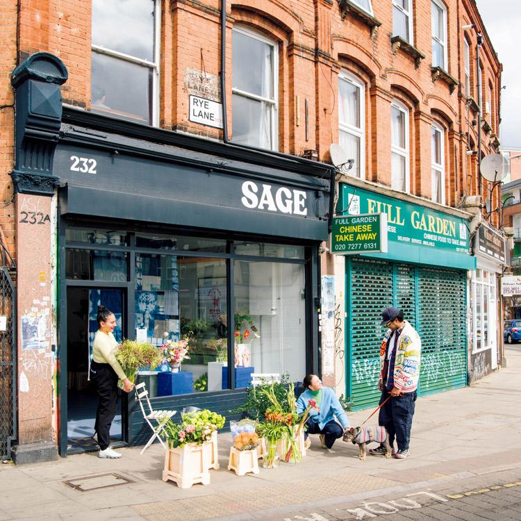 〈Sage〉〈Worm〉ロンドンの次世代フローリスト