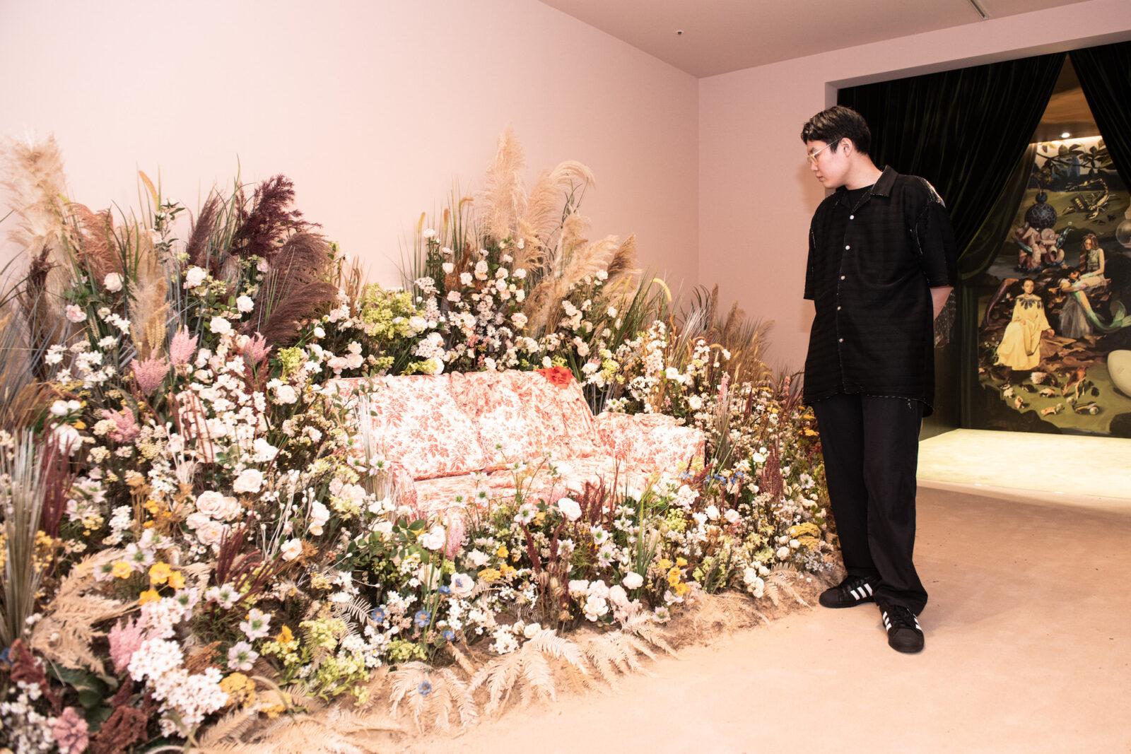 篠田ミル「グッチ ガーデン アーキタイプ」展