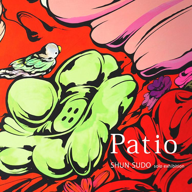 現代アーティスト・SHUN SUDO 展覧会「Patio」