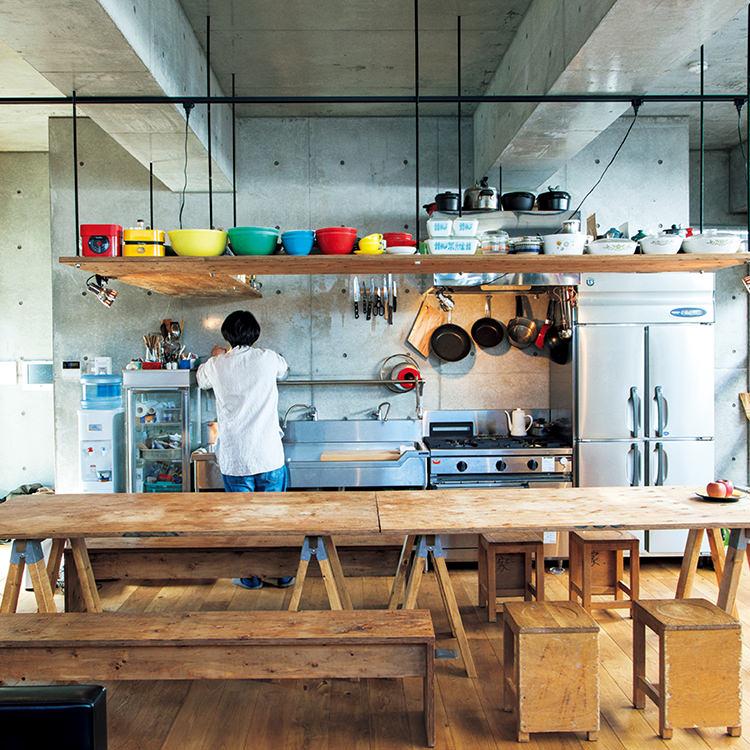 「機能的で無駄にお金をかけない」キッチン