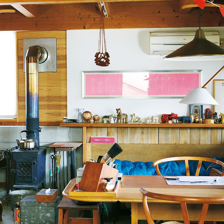 鹿児島の家具職人・川畑健一郎さんの愛する居場所。
